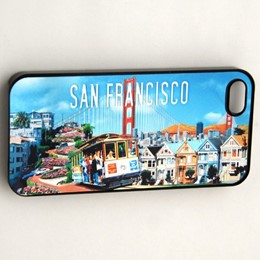 San Francisco Collage Case For iphone5