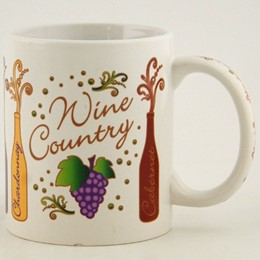 California Wine Varietals 11oz Mug