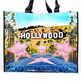 HOLLYWOOD  W.O.F. RECYCLED TOTE