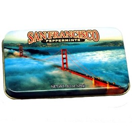 Cable Car Fog Peppermint Mints (24g)