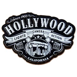 Hollywood Wild 3-D Magnet