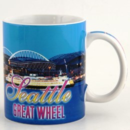 Seattle Great Wheel Photo Day Mug