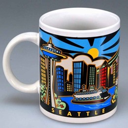 Seattle Sunrise 11oz Mug