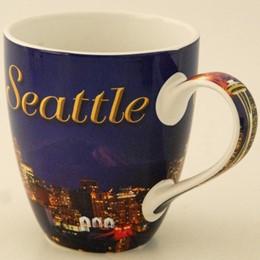 Seattle Fireworks Round Java Mug