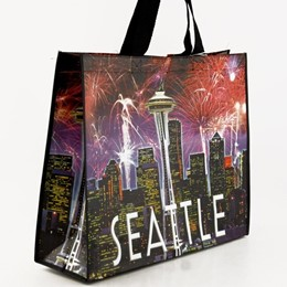 SEA Fireworks Recycled Tote