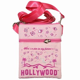 Hollywood Easy Going Pink Hipbag - Canvas