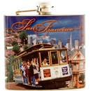 San Francisco Collage Photo 5oz Flask