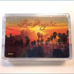 Los Angeles Sunset Playing Cards