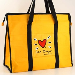 San Diego Subway Nylon Embroider Tote